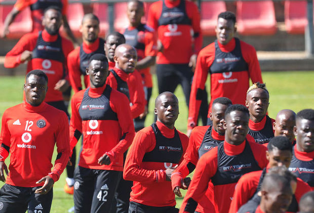 Orlando Pirates' use of 26 different players possibly