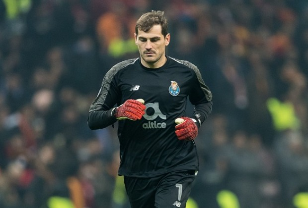 promo code 50a63 51851 FC Porto goalkeeper Iker Casillas reportedly rushed to hospital