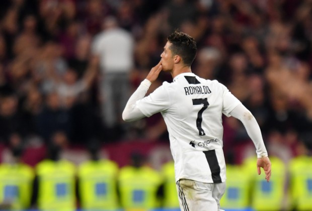 faf453d77 Cristiano Ronaldo praised for  saving Juventus from relegation  and