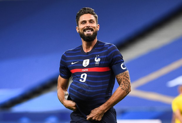 Olivier Giroud Closing In On All Time France Record After Netting