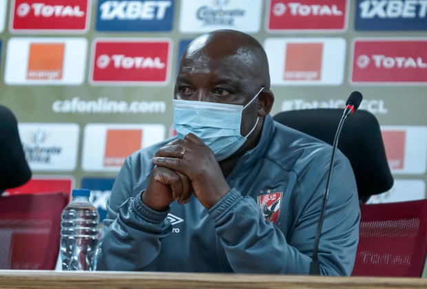 Al Ahly's Pitso Mosimane hits back at Peter Shalulile talk after