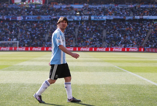 'Argentina star Lionel Messi was really scared at 2010 FIFA World Cup