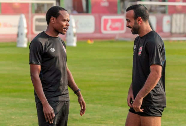 Percy Tau returns to Al Ahly training after injury lay-off - KickOff.com